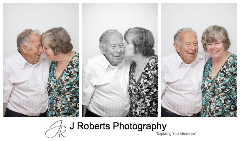Grandparents couple portraits - sydney family portrait photography